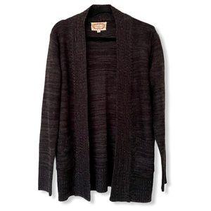 AMBIANCE open sweater cardigan shrug